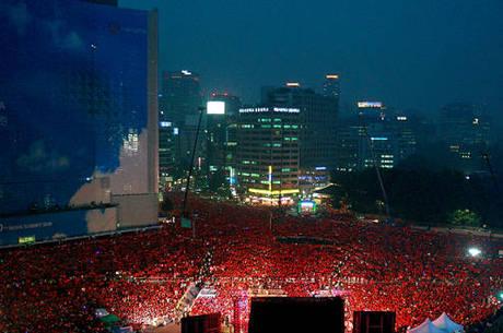 A foto original feita na Coreia e que o deputado diz ser Curitiba