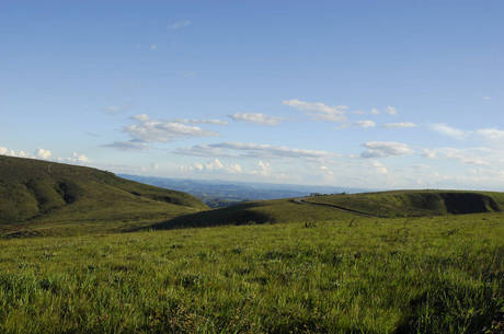 Barragem fica na região da serra do Rola-Moça