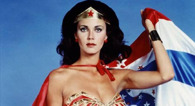 Lynda Carter foi a Wonder Woman de 1975 a 1979