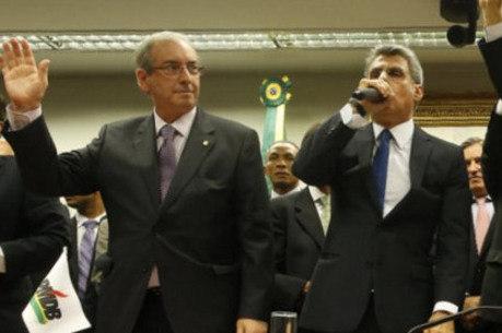 Cunha e Jucá são apontados como beneficiários do esquema
