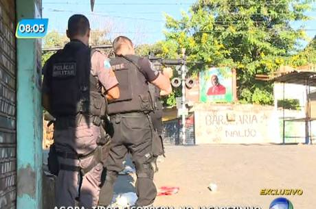 Três pessoas foram baleadas e duas morreram durante confronto
