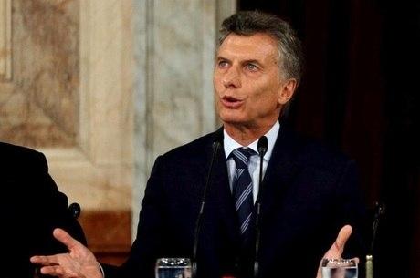 Mauricio Macri assumiu o poder em dezembro de 2015