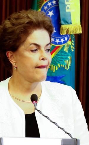 Presidente Dilma acompanha votação do Palácio do Alvorada