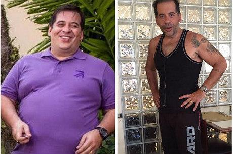 """R7 Entretenimento Leandro Hassum emagrece 62 kg e mostra """"antes e depois"""": """"Vitória"""" - Entretenimento - R7 Famosos e TV"""