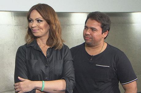 Solange Almeida e Xandy Avião, do grupo Aviões do Forró
