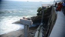 Ciclovia de São Conrado caiu porque plataforma não estava amarrada aos pilares