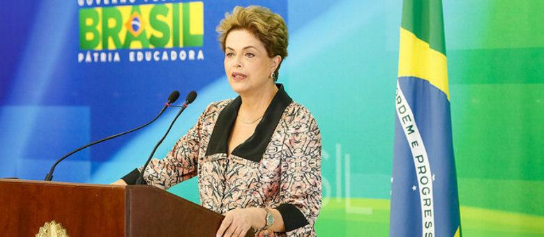 Além da fala no Palácio do Planalto, Dilma divulgará um vídeo nas redes sociais