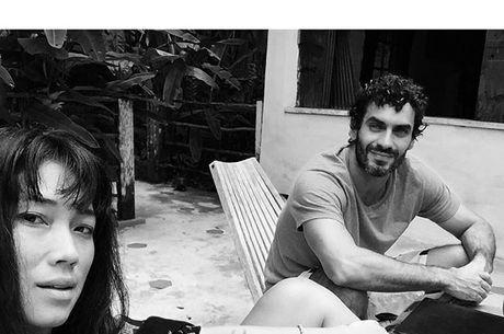 Nikolas e Dani Suzuki estão juntos há cerca de oito meses