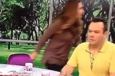 Sônia Abrão deixa bancada após ouvir choro no estúdio