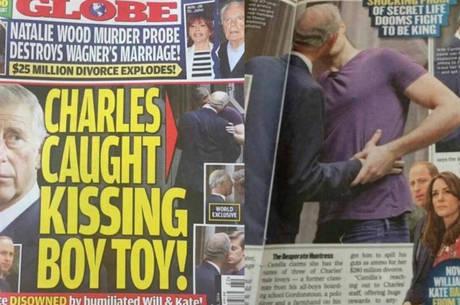 revista mostra foto de suposto beijo entre principe charles e rapaz entretenimento r7 famosos e tv charles e rapaz