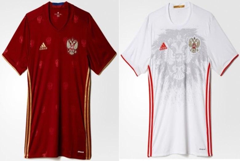 ec1801c9c1c1a ... nova  A Adidas inovou nas camisas da seleção da Russia. Tanto no  uniforme um quanto no ...