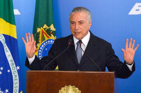 O governo Temer é aprovado por 36,2% dos brasileiros