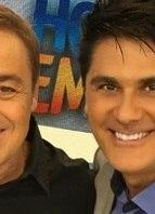 Selfie Cesar Filho e Gugu
