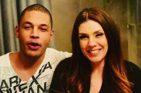 O casal postou vídeo agradecendo aos fãs e pedindo votos