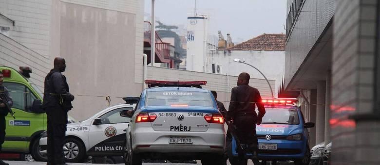 Traficante é resgatado no Hospital Souza Aguiar, no Rio de Janeiro