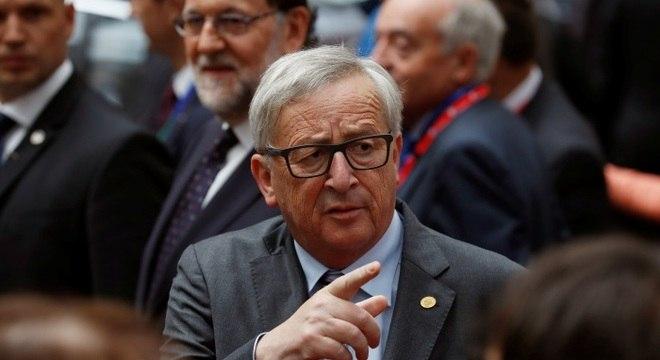 O presidente da Comissão Europeia, Jean Claude Juncker, tem pressionado o Reino Unido