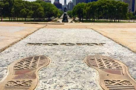 Rocky Steps (passos de Rocky) no Philadelphia Art Museum