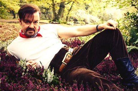 Ricky Gervais critica reclamações de famosos