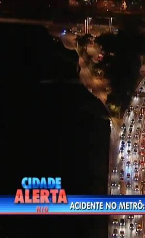 Avenida Martin Luther King estava com retenção após acidente