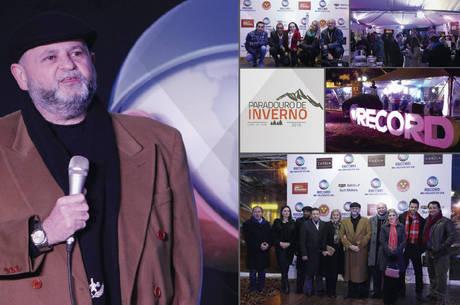 TV Record RS celebra o Paradouro de Inverno em Canela