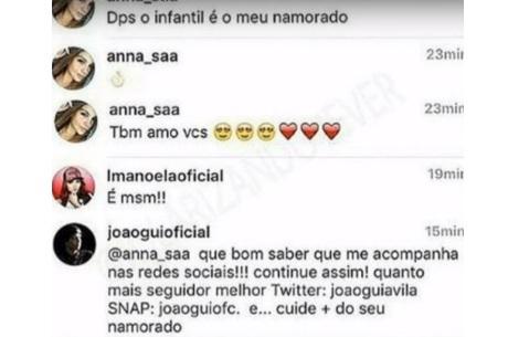 Entenda a briga entre Larissa Manoela, João Guilherme e
