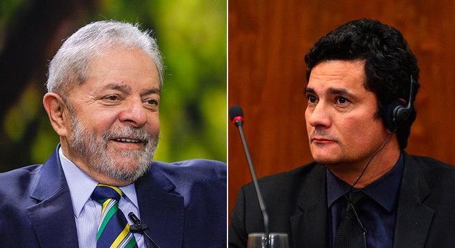 Lula teria 21,3% dos votos e Sérgio Moro, 57,9%, em eventual disputa à Presidência da República