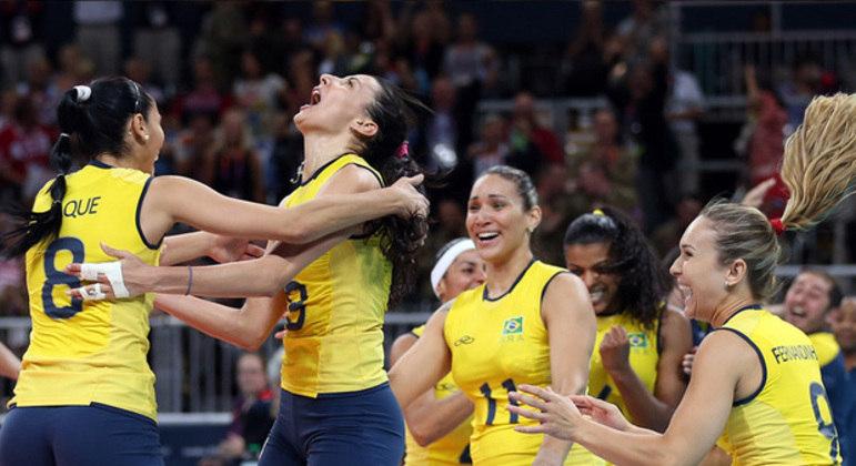 Brasil venceu as duas finais olímpicas que fez contra os EUA, em Pequim 2008 e Londres 2012 (foto)