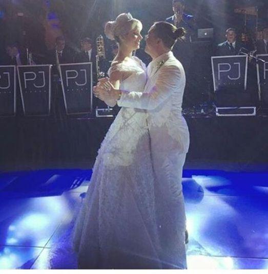 Safadão e Thyane dançaram a valsa