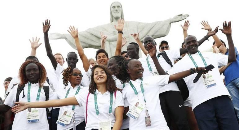 Equipe de refugiados competiu pela primeira vez nas Olimpíadas do Rio