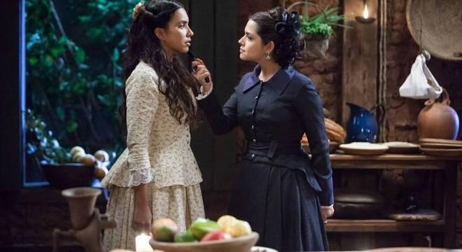 Maria Isabel não esconde seu ódio por Juliana