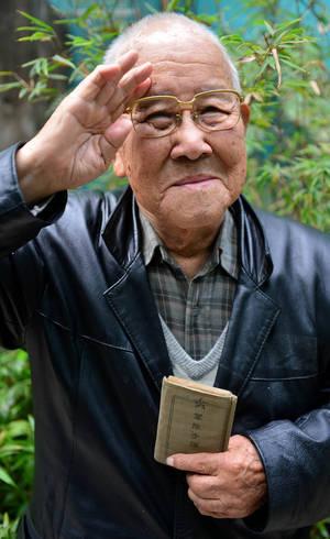 ae8de8b7360 Takashi Morita era policial militar e estava em Hiroshima no momento em que  uma bomba nuclear
