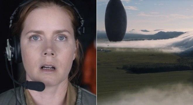 Amy Adams faz contato com alienígenas no angustiante trailer de A Chegada