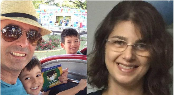 O pai foi identificado como Nabor de Oliveira Junior, de 43 anos, e a mãe como Lais khouri, de 48 anos. As crianças eram Henrique Khouri, de 10 anos, e Arthur Khouri, de 6 anos