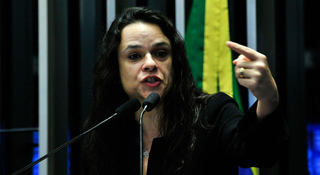 Janaina Paschoal discursa no Senado Federal