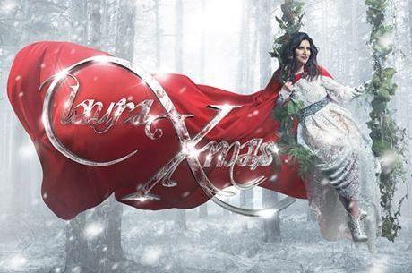 Capa do CD de Laura Pausini com músicas de Natal