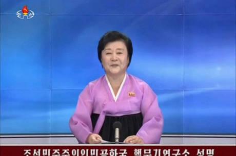 TV estatal norte-coreana KCTV confirmou que o país teve sucesso no quinto teste nuclear de sua história