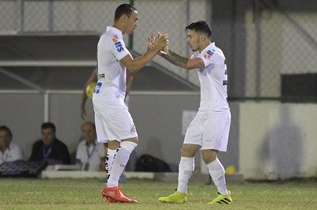 Santos vai entrar com faixa no jogo contra o Santa Cruz