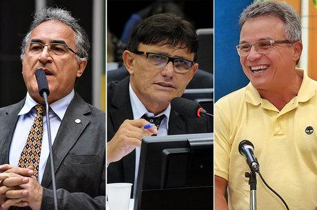 Deputados federais Edmílson (PSOL) e Éder Mauro (PSD) e Zenaldo Coutinho (PSDB) estão na frente para a Prefeitura de Belém (PA)