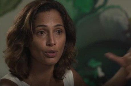 Camila Pitanga fala sobre acidente com Domingos Montagner