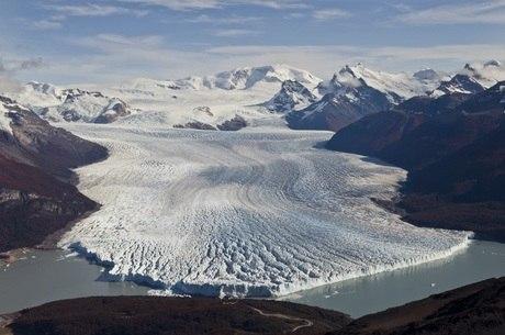 Glaciar Perito Moreno fica na Patagônia Argentina