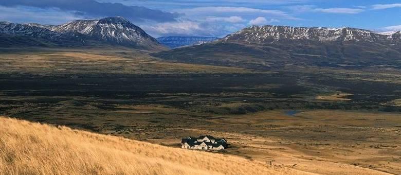 No meio da Patagônia argentina está o hotel Eolo, a 30 minutos do glacial famoso Perito Moreno