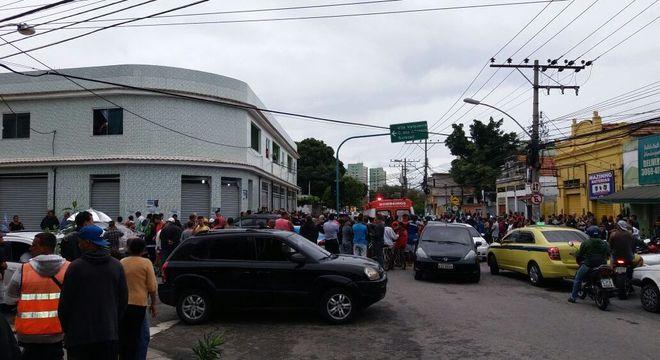 Marcos Falcon foi assassinado em Oswaldo Cruz, zona norte do Rio, na tarde desta segunda (26)