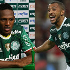 Mina e Vitor Hugo (Palmeiras)