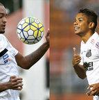 Luiz Felipe e David Braz (Santos)
