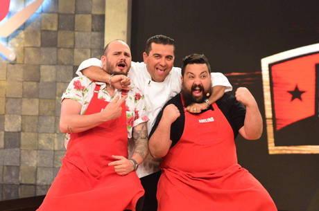 Buddy Valastro comandou a final da Batalha dos Cozinheiros
