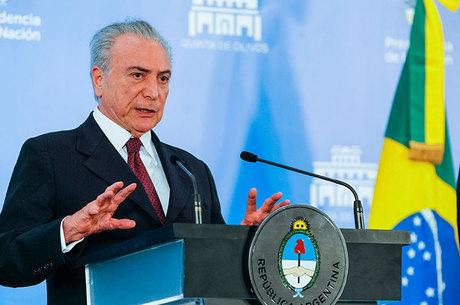 Temer tem aprovação de um em cada dez brasileiros, indica Ibope