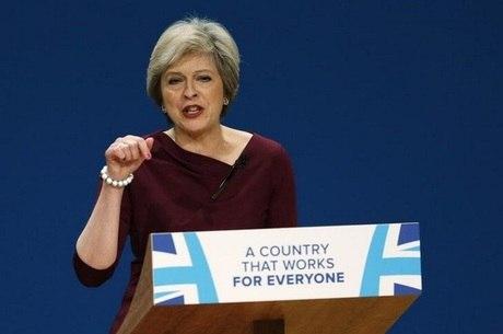 Atual primeira-ministra britânica prometeu reformas