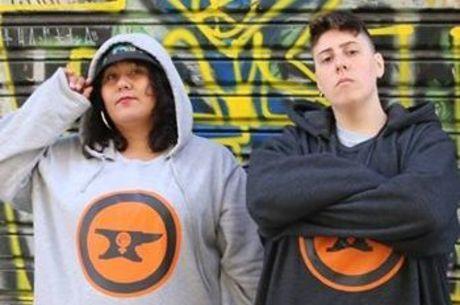 Issa e Sara formam a dupla Rap Plus Size