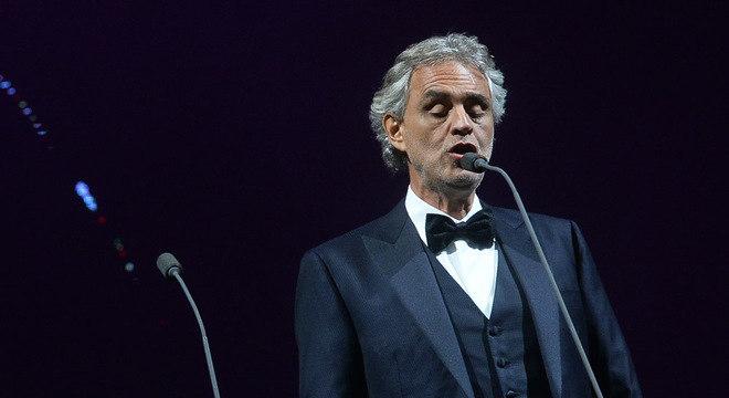 Andrea Bocelli é um dos maiores tenores do mundo
