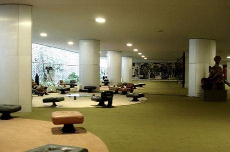 O Salão Verde da Câmara: carpetes serão trocados